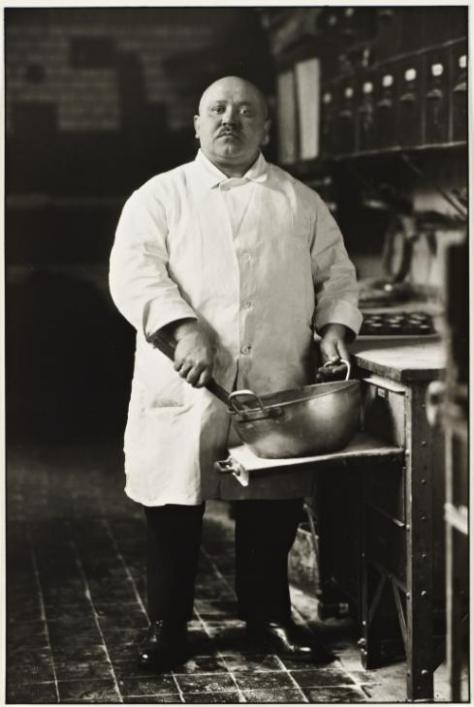Pastrycook 1928, printed 1999 by August Sander 1876-1964
