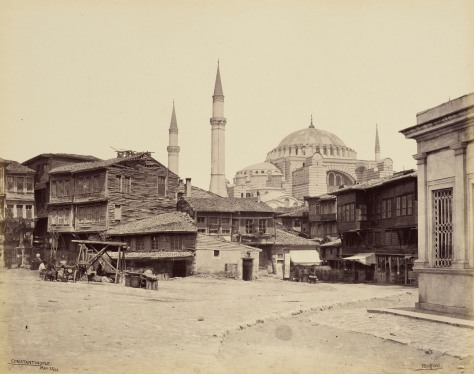 Mosque of St Sophia - from the Hippodrome [Hagia Sophia, Constan