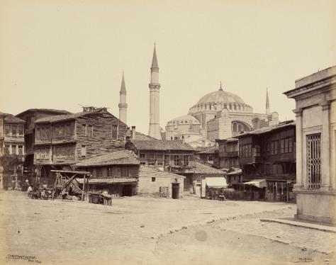 Mosque of St Sophia - from the Hippodrome [Hagia Sophia, Constan